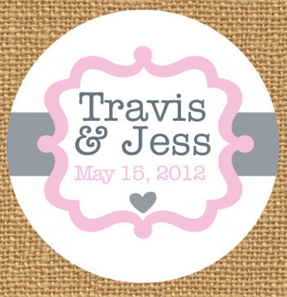 personalized wedding stickers wedding favors custom wedding sticker