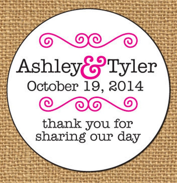 custom wedding sticker wedding favor stickers just married envelope