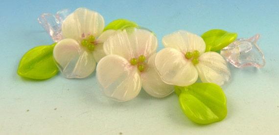 Pale Pink Flower Set