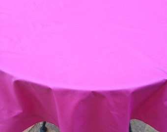 """60"""" Pink Round Table Cloth"""