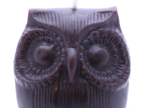 Afred The Owl - Black Scented Candle