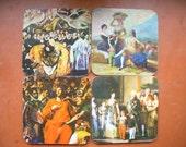 VINTAGE '60 coasters clasic Spanish painters