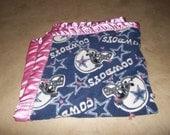 Dallas Cowboys Fleece Baby Blanket