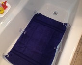 Blue Baby Tubby Buddy - bath mat