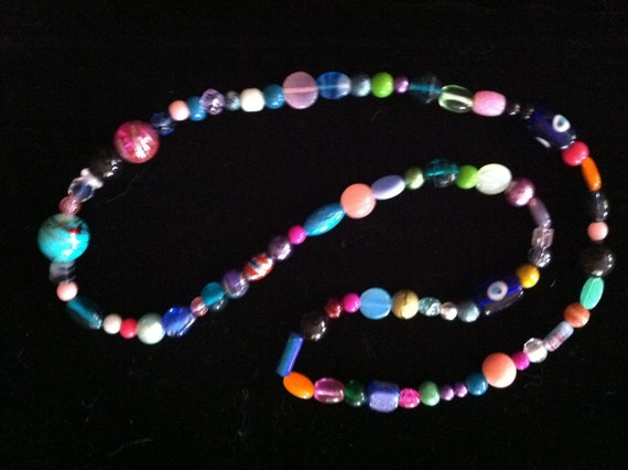 All Colors Summery Vintage Necklace - Never Worn