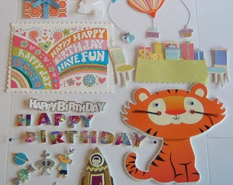 19 DECORATIONS FOR GREETING Cards Variety Pack