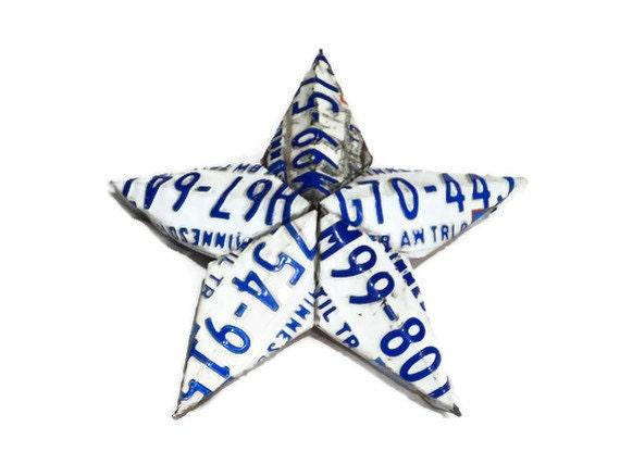License Plate Star - Small Size - Minnesota