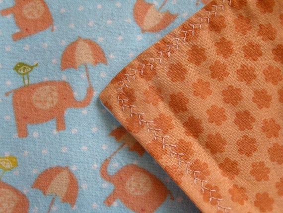 Doll blanket small 17 inch x 20 inch 100 percent cotton blanket