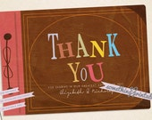 DIY Adventure Inspired Thank You Card Printable Design