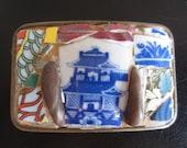 Hidden Temple Mosaic Belt Buckle