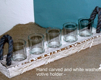 Rustic Votive Candle Holder