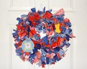 Coast Guard Rag Wreath