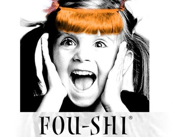 FOU-SHI - the instant haircut - orange - pony to connect