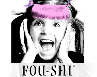 FOU-SHI - the instant haircut - pink - pony to connect
