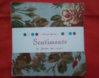 Sentiments Christmas Charm Pack by 3 Sisters
