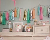 Custom Listing for Ryan - 20 Tissue/Mylar Tassel Garland