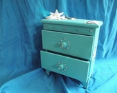 StarFish & Sand Dollar Pearl Jewelry Box