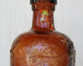 HOLD for MARIE CLAIRE vintage lysol bottle - pre-1910's bottle from Hawaii, small shabby-chic vase