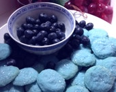 Smurf Berry Shortbread Cookies Free Samples