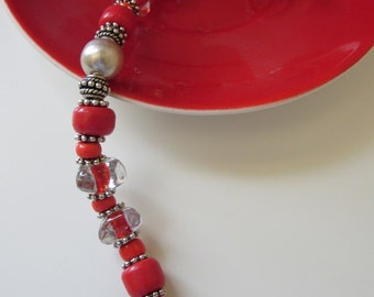 SIMPLY RED . Bracelet matching the choker