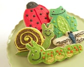 Bugs and Critters Sugar Cookies with Buttercream Frosting