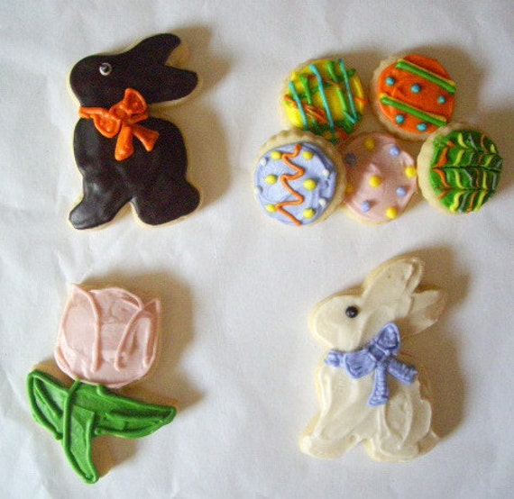 Easter Minis Sugar Cookies with Buttercream Frosting