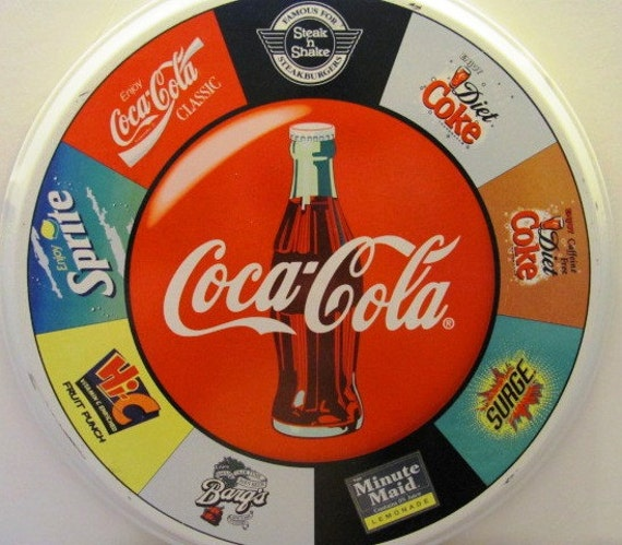 Soda and Food Serving Tray from Steak and Shake