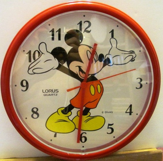 Mickey Mouse Wall Clock Mickey Mouse Wall Clock Made