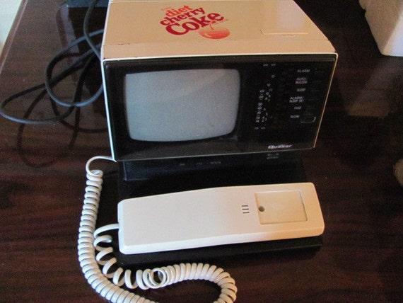 Diet Cherry Coke Television Telephone, Radio and Alarm Clock
