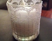 Reserved Listing for Kacie 4 x Lace votive candle