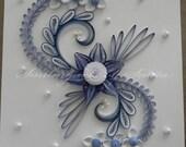 Bloomy blue