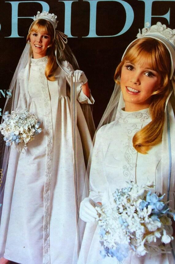 1968 modern bride magazine by sandshoevintageprint on etsy