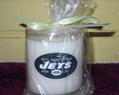 New York Jets sports candle