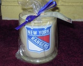 New York Rangers Soy candles in vanilla