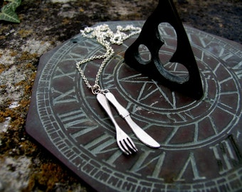 Knife and Fork necklace