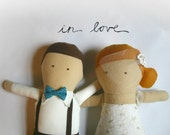 Custom wedding dolls- reserved