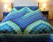 Twist Bargello Quilt Queen Size Customizable