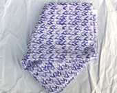 One Fat Quarter of Breeze (Lilac) Cotton Fabric By Rosemarie Lavin Design
