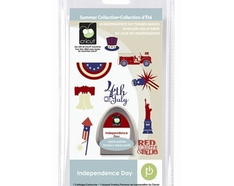 Cricut Cartridge  - INDEPENDENCE DAY - JULY 4th - Patriotic Images - Statue of Liberty - New in Pkg.