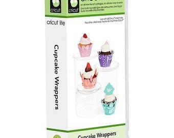 Cricut Cartridge  - CUPCAKE WRAPPERS - LITE - New and Sealed - RETiRED and RARe - Not in Stores !