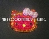 RARE Swarovski Crystal Hello Kitty Compact Case