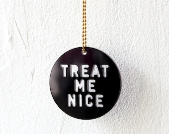 Necklace, Treat Me Nice, black