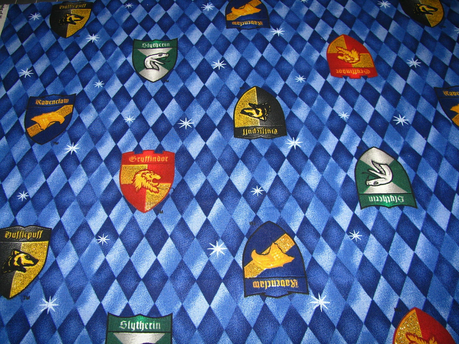 Harry Potter Harlequin Fabric Fat Quarter Out Of Print