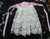 Steampunk Victorian Aristocrat Bead Embroidery and Lace Jabot Perfect for Steam Punk/FantasyWedding