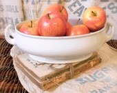 FREE SHIPPING White Imperial Parisian Granite Footed Dish