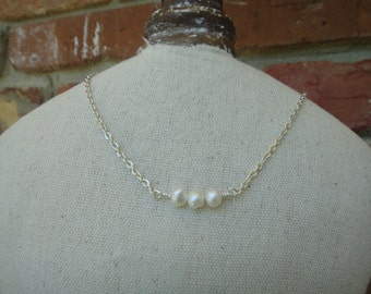 3 Wishes Pearl Necklace