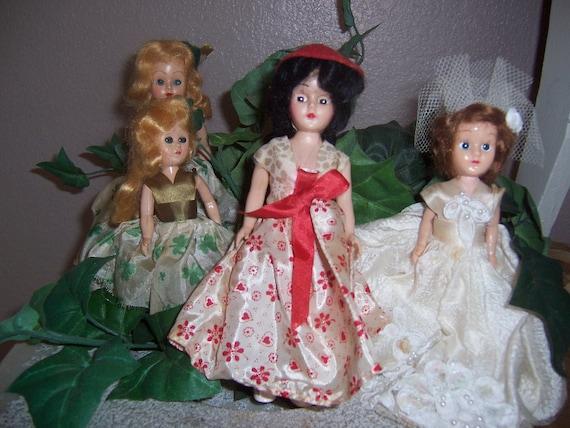 Vintage Doll Lot All 4