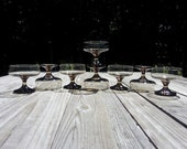 Reserved for Katja 25% off every item- Use coupon code 25OFF; Item 56: Libbey Tawny Brown Champaign Sherbert Glasses