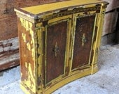 Vintage Cabinet in Marigold Yellow