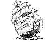 old ship temporary tattoo